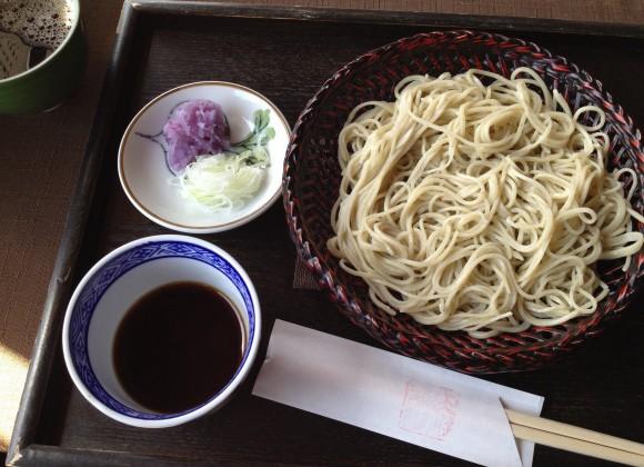 2013-12-22 織姫山の桜と蕎遊庵 001