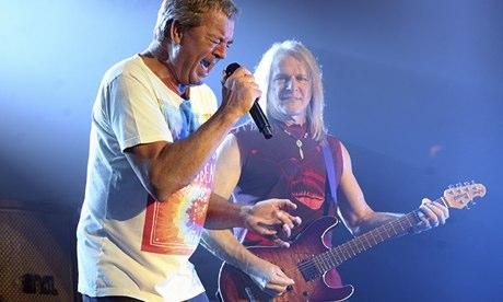 Deep Purple at Roundhouse Ian Gillan Steve Morse